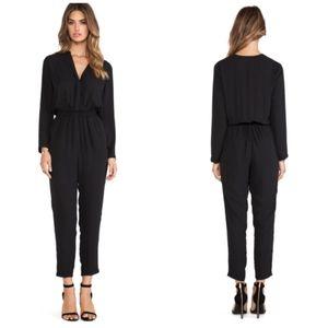 Eight Sixty Revolve Black Long Sleeve Jumpsuit